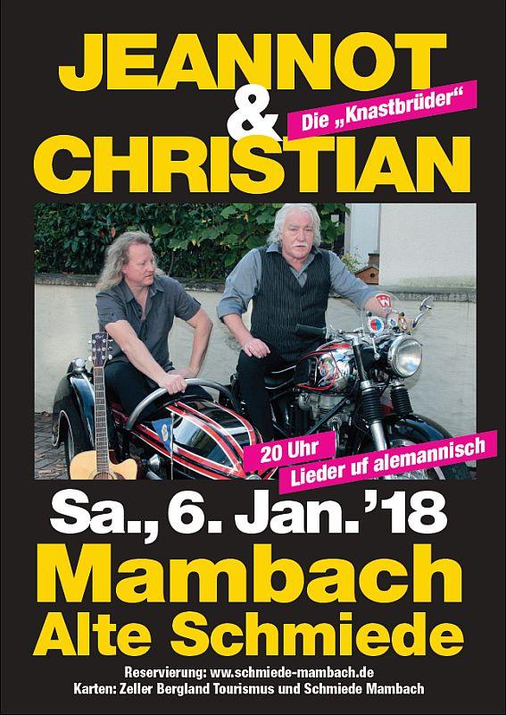 Konzert mit de Knaschtbrüeder @ Alte Schmiede Mambach | Zell im Wiesental | Baden-Württemberg | Deutschland