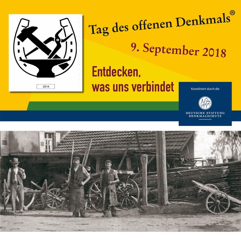 Tag des Offenen Denkmals 2018 @ Alte Schmiede Mambach | Zell im Wiesental | Baden-Württemberg | Deutschland